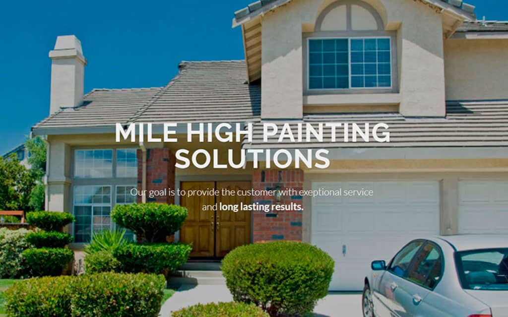 Mile High Painting Solutions